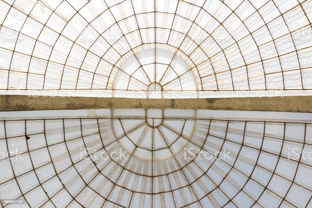 Estructura Horizontal De Invernadero Simétrico De La Bóveda Visto Desde Abajo Foto De Stock Y Más Banco De Imágenes De Brasil