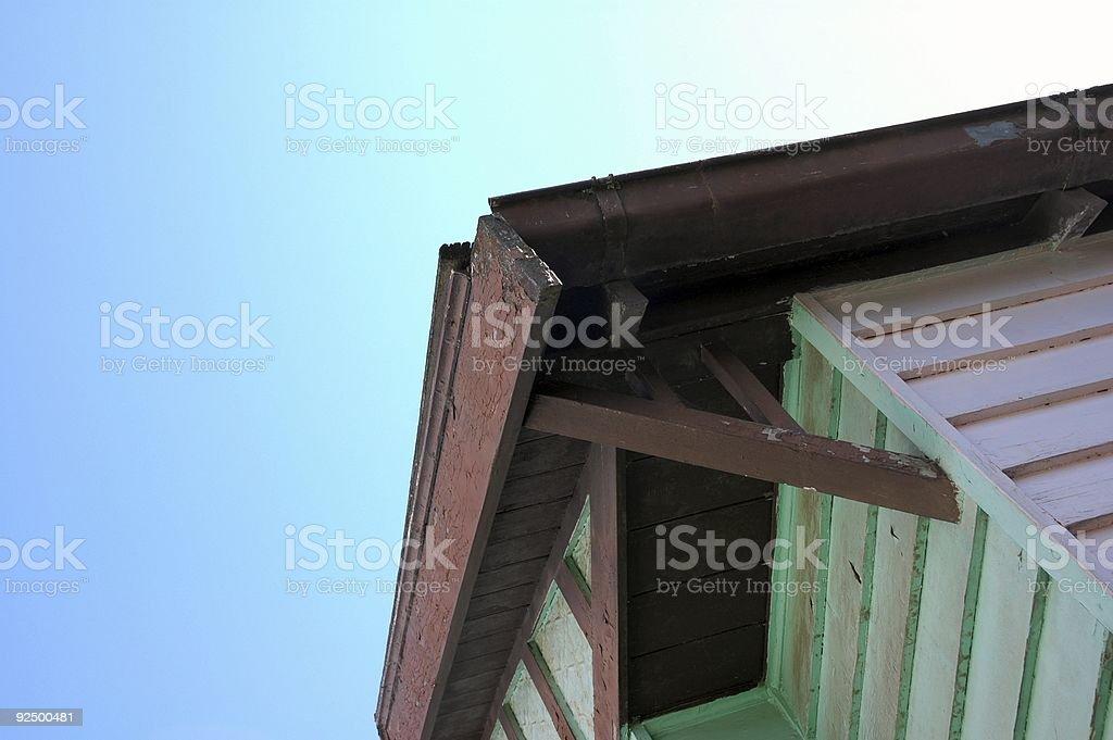 Greenish House royalty-free stock photo