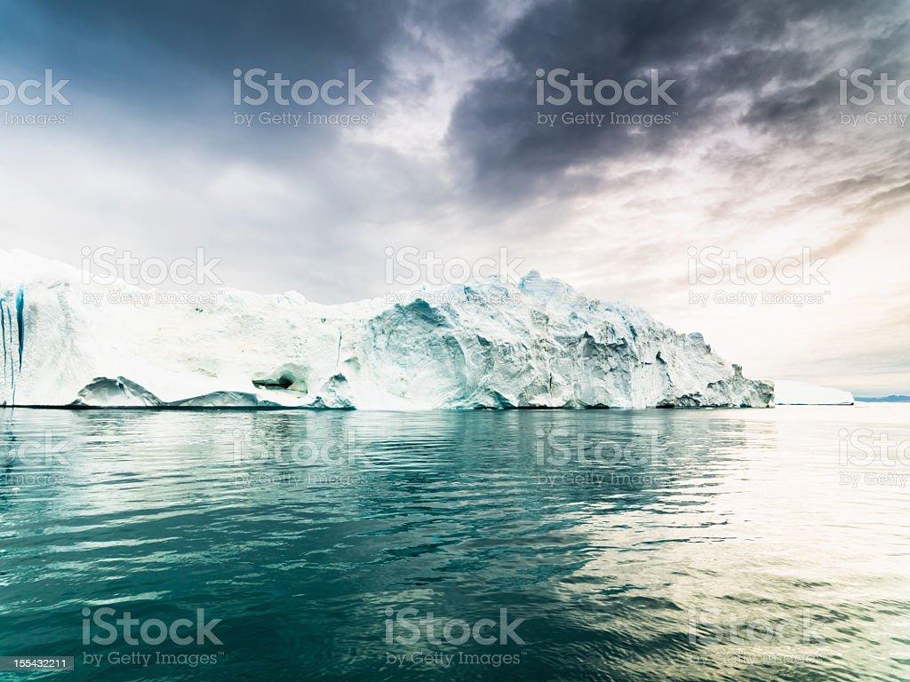 Greenland Artic Iceberg Ilulissat Icefjord  Arctic Stock Photo
