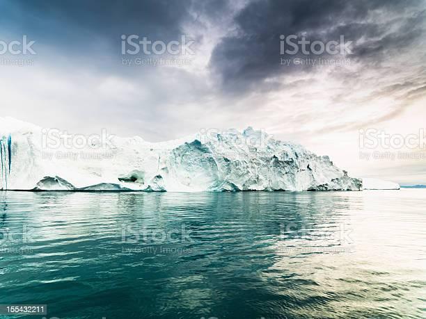Greenland Artic Iceberg Ilulissat Icefjord Stock Photo - Download Image Now