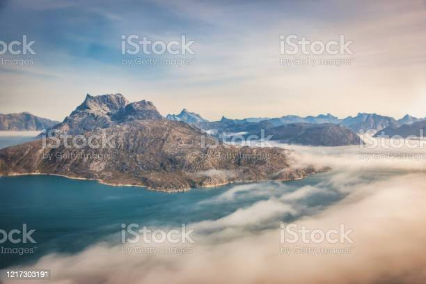 Photo of Greenland Fjords West Coast Helicopter Aerial View