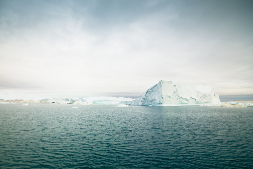 Greenland Icefjord Arctic Icebergs Stock Photo - Download Image Now