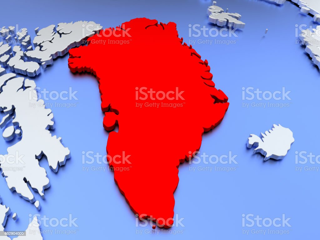 Greenland on world map stock photo more pictures of country greenland on world map royalty free stock photo gumiabroncs