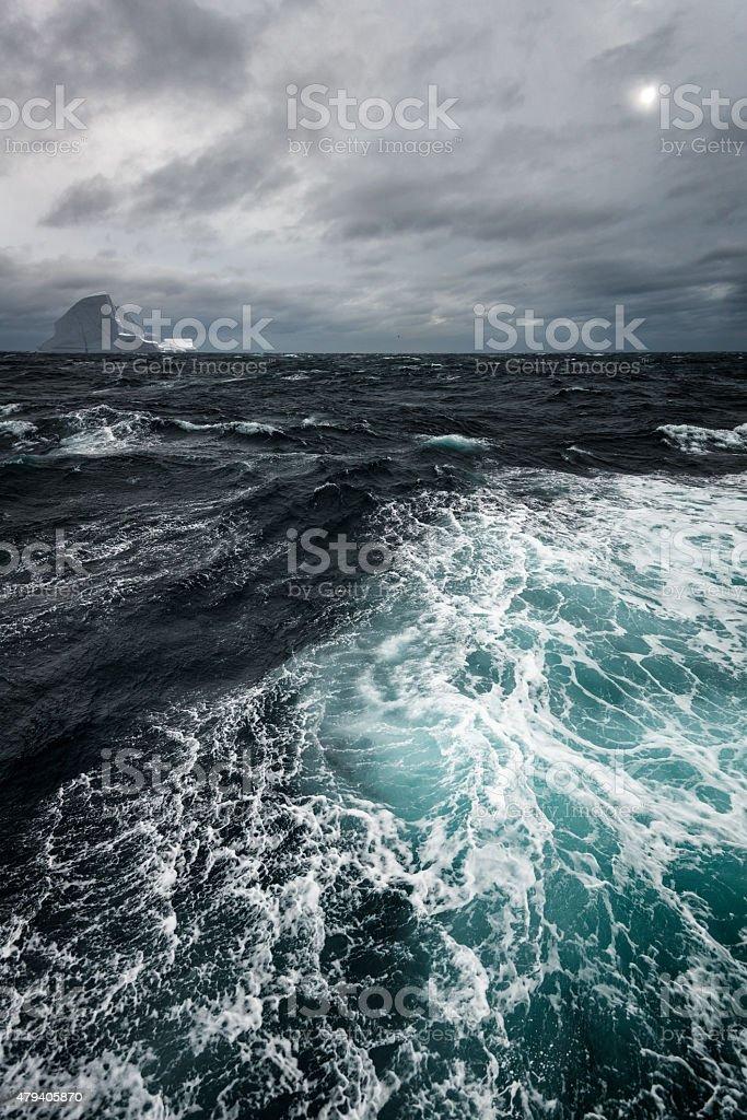 Greenland Sea Iceberg stock photo
