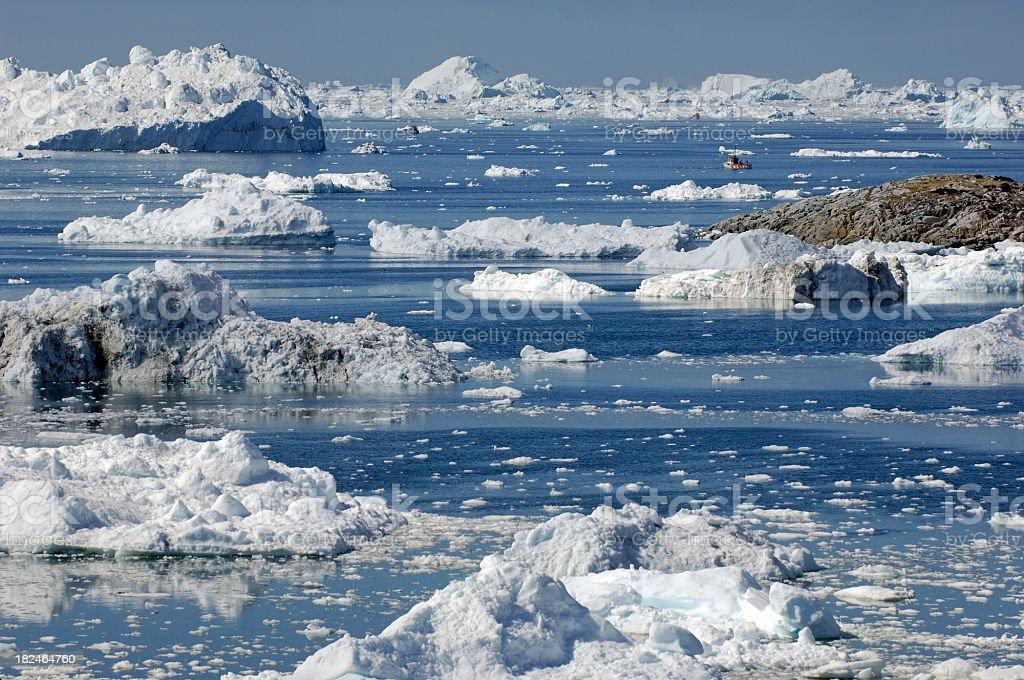 Greenland sea royalty-free stock photo