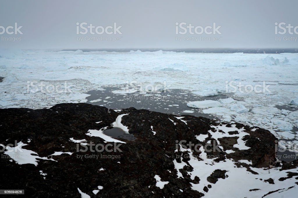 Greenland's ice cap contains 10% of the world's supply of fresh water and is now melting with increasing speed. Greenland's ice cap contains 10% of the world's supply of fresh water and is now melting with increasing speed. Adventure Stock Photo