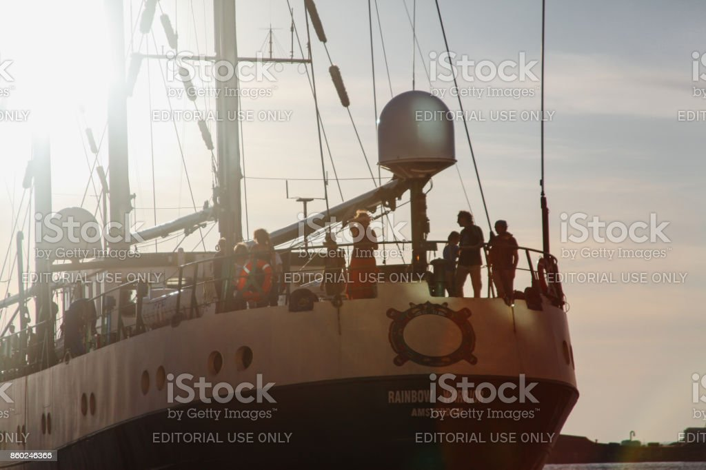 Greenpeace stock photo