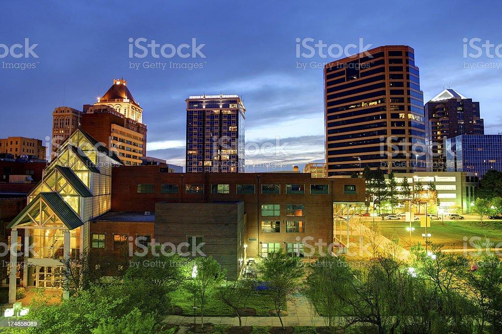 Greensboro North Carolina stock photo