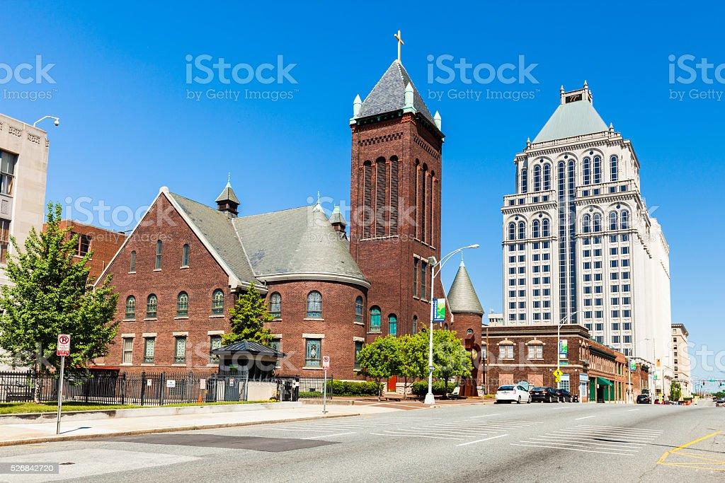 Greensboro, North Carolina stock photo