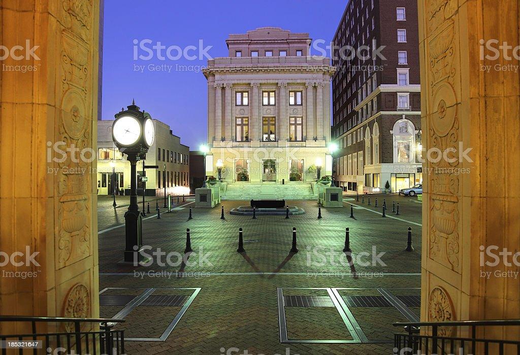 Greenville, South Carolina royalty-free stock photo