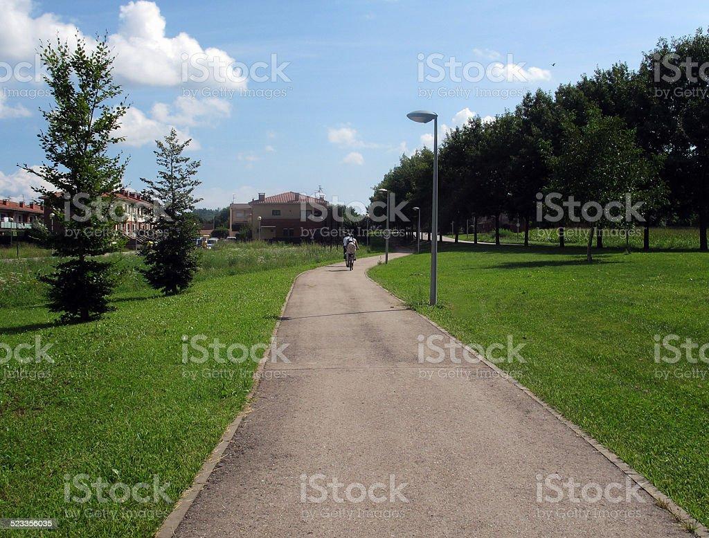 greenway royalty-free stock photo