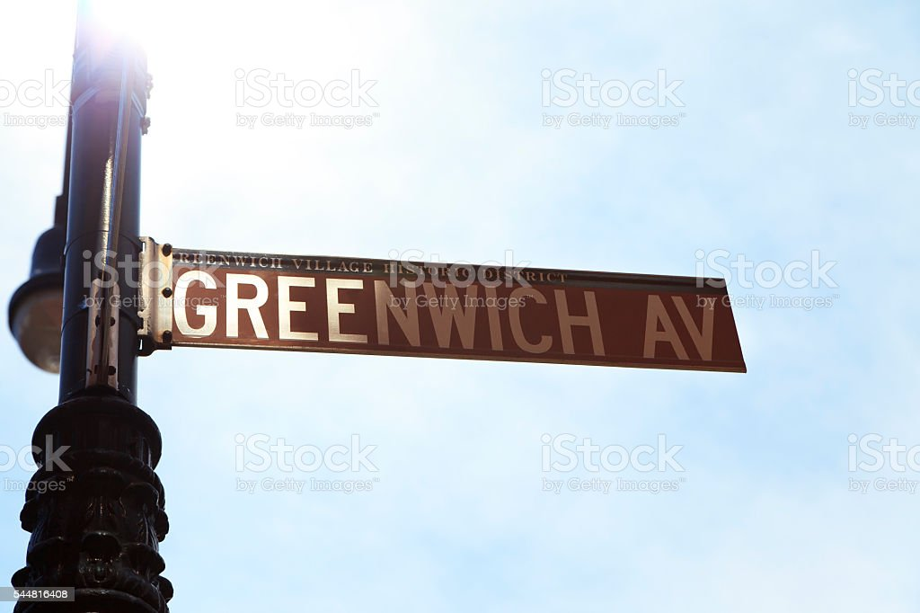 Greenwich AV stock photo