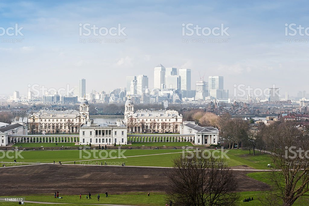 Greenwich Park royalty-free stock photo