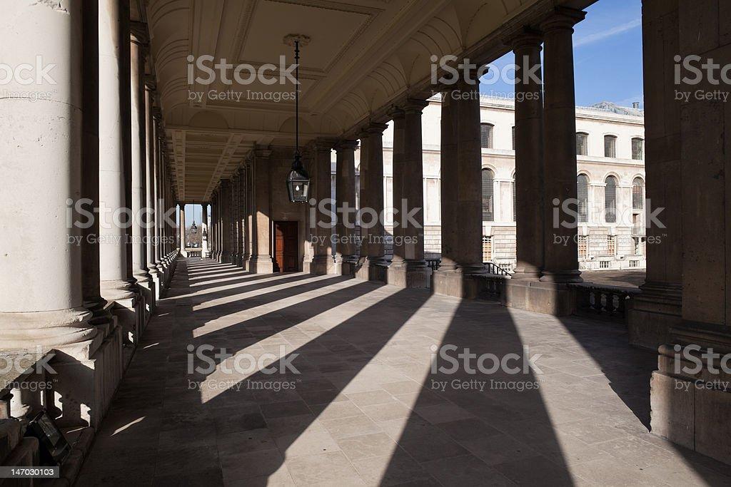 Greenwich University Exterior royalty-free stock photo