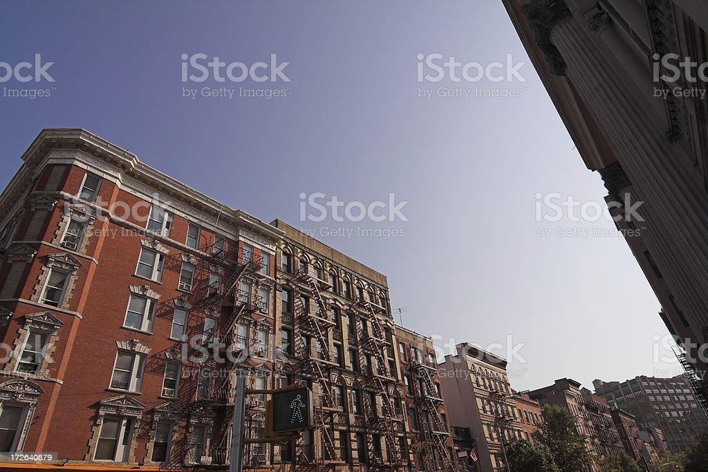 Greenwich Village New York City royalty-free stock photo