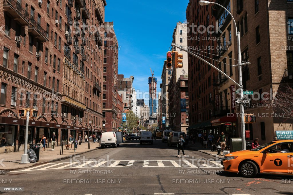 Greenwich village, New York City stock photo
