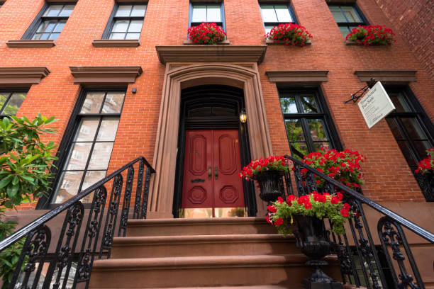 Ein Greenwich Village Townhouse – Foto