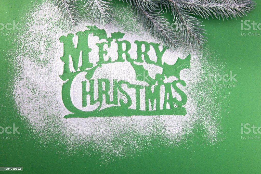 Frohe Weihnachten Schablone.Grusskarte Leer Frohe Weihnachten Schablone Fur Schneeflocken
