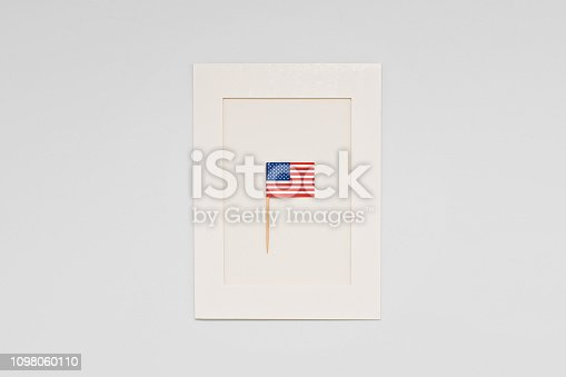 istock Greeting card for celebration of President's Day in America 1098060110