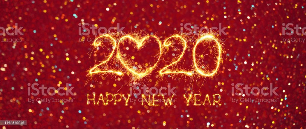 Greeting Card Happy New Year 2020 Stock Photo Download Image Now Istock