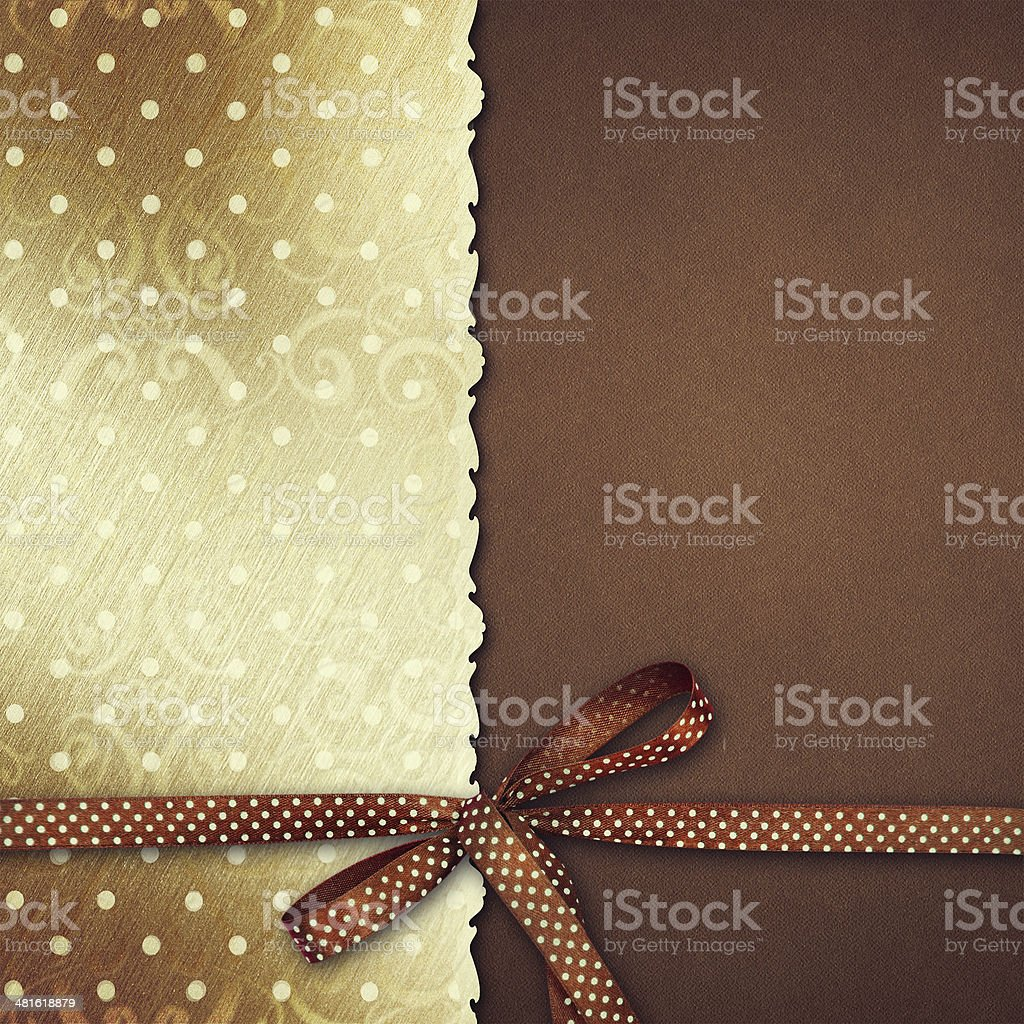 Greeting card. stock photo