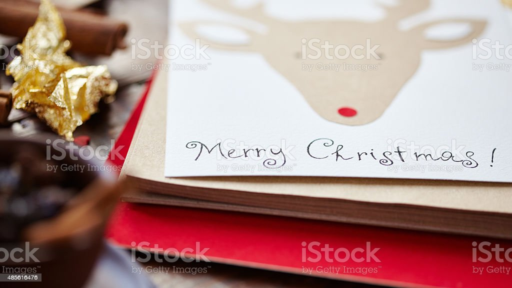 Greeting card stock photo