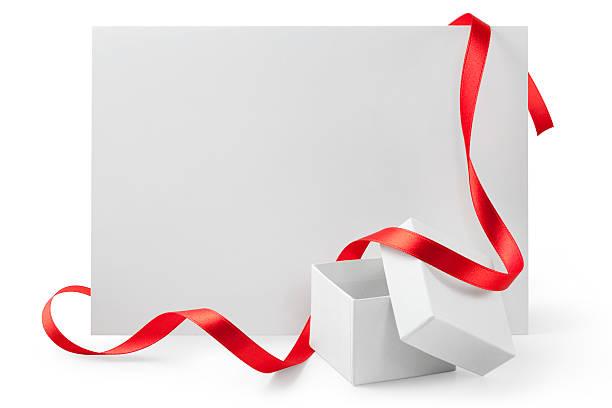 grußkarten und geschenke - bandanzeige stock-fotos und bilder