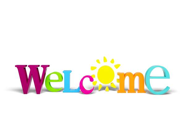 Greeting. Greeting welcome sign sign three-dimensional shape single word hello text welcome sign stock pictures, royalty-free photos & images
