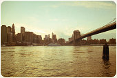 East river waterfront, Manhattan, New York