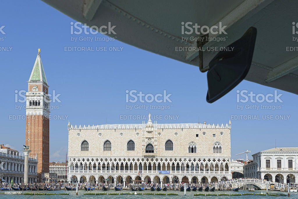 Greetings from Venice stock photo