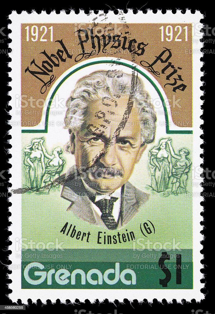 Grenade Albert Einstein Timbre-poste - Photo