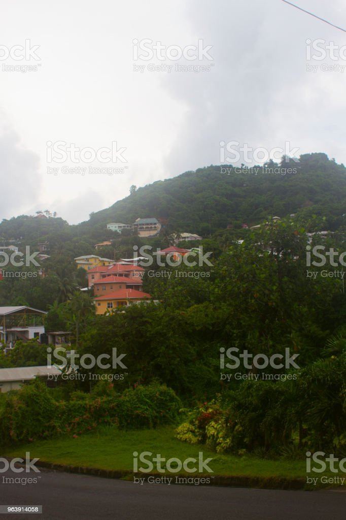 Grenada Neighborhood stock photo