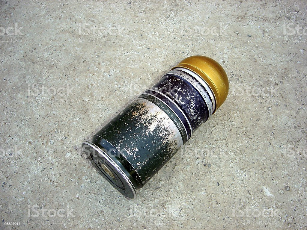 grenade 40mm royalty-free stock photo