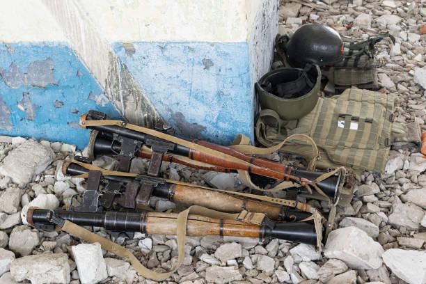 Lanzagranadas RPG-7 - foto de stock