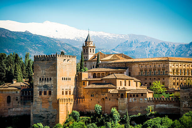 Granada Granada palace of charles v stock pictures, royalty-free photos & images