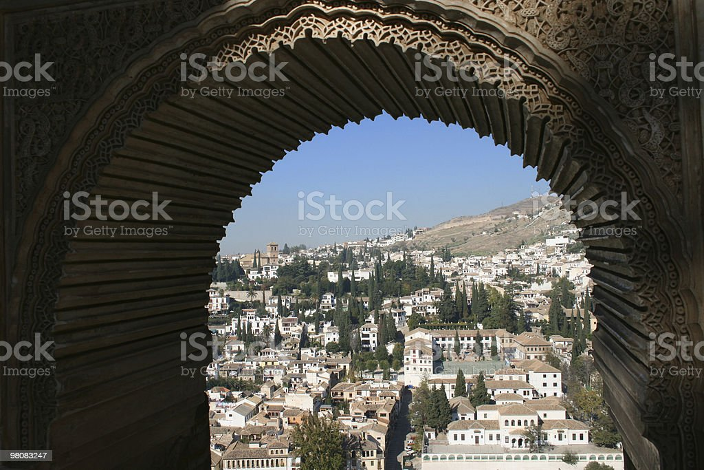 Granada royalty-free stock photo
