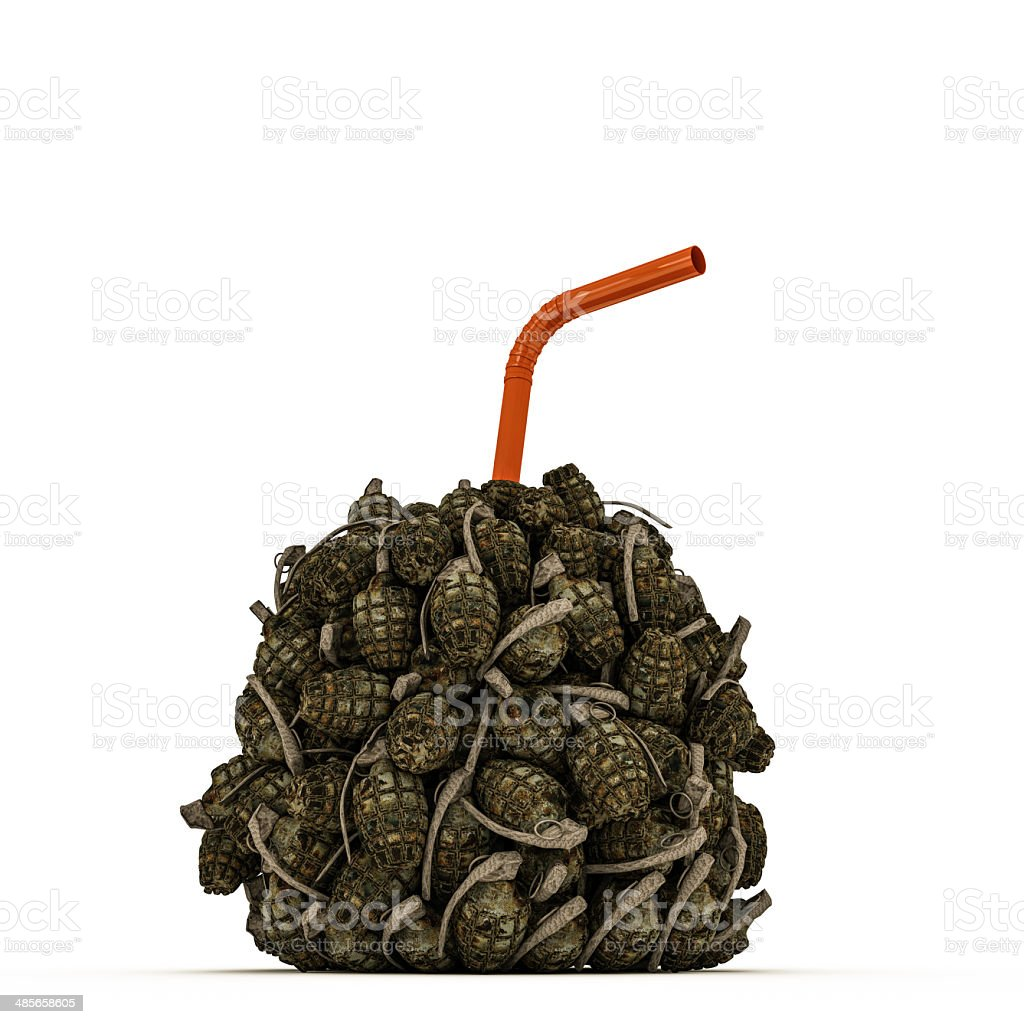 grenades stock photo