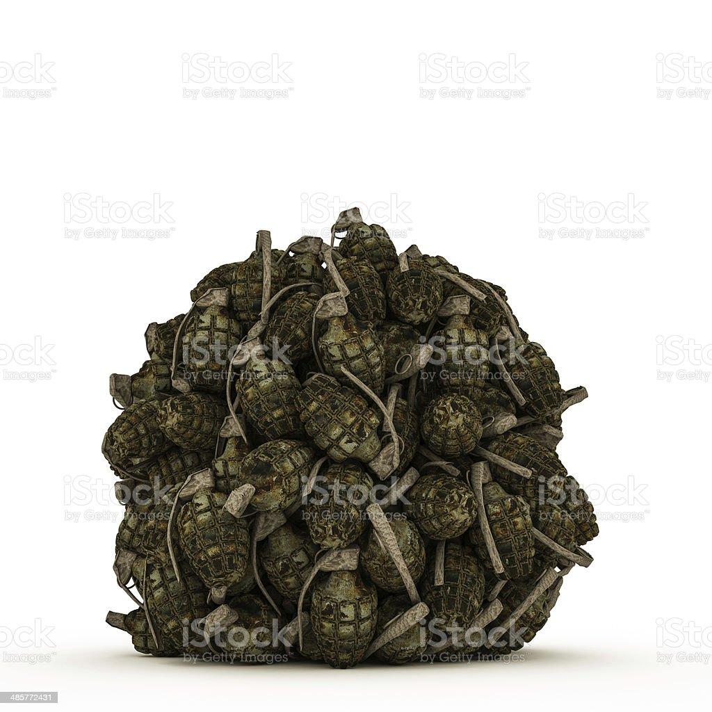 grenades royalty-free stock photo