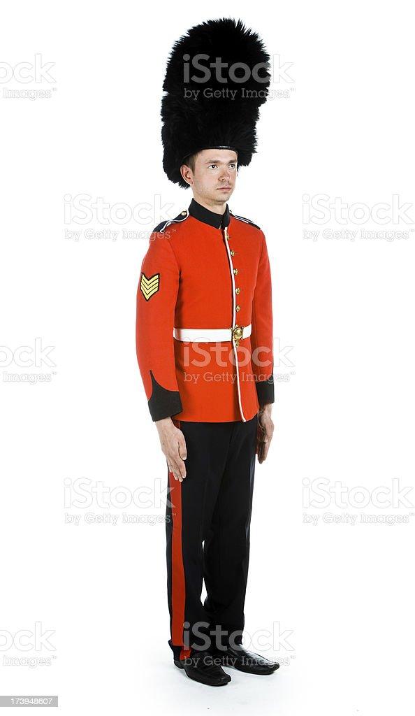 Grenadier Guard royalty-free stock photo