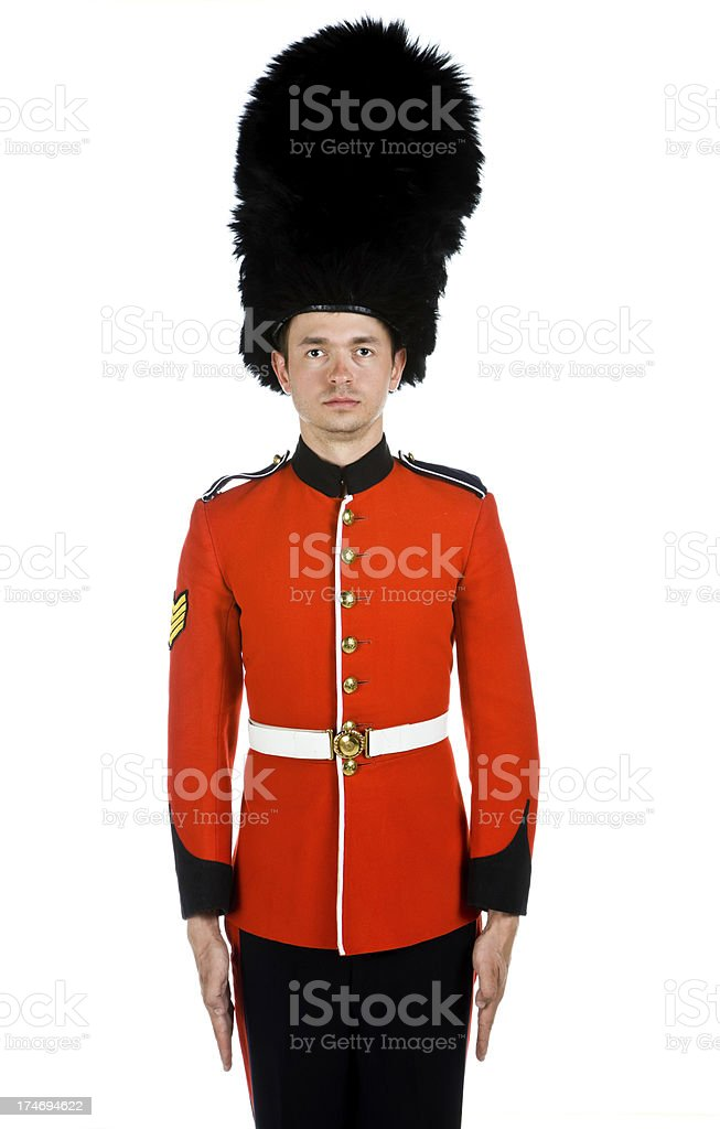 Grenadier Guard royalty-free stock photo