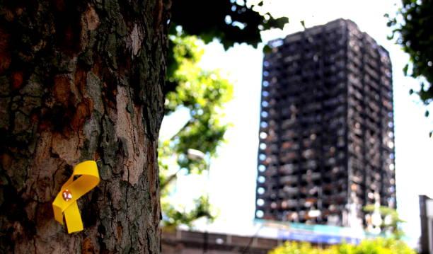 Grenfell Turm Yellow Ribbon – Foto