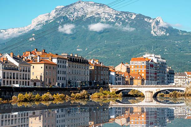 Grenoble city in France – Foto