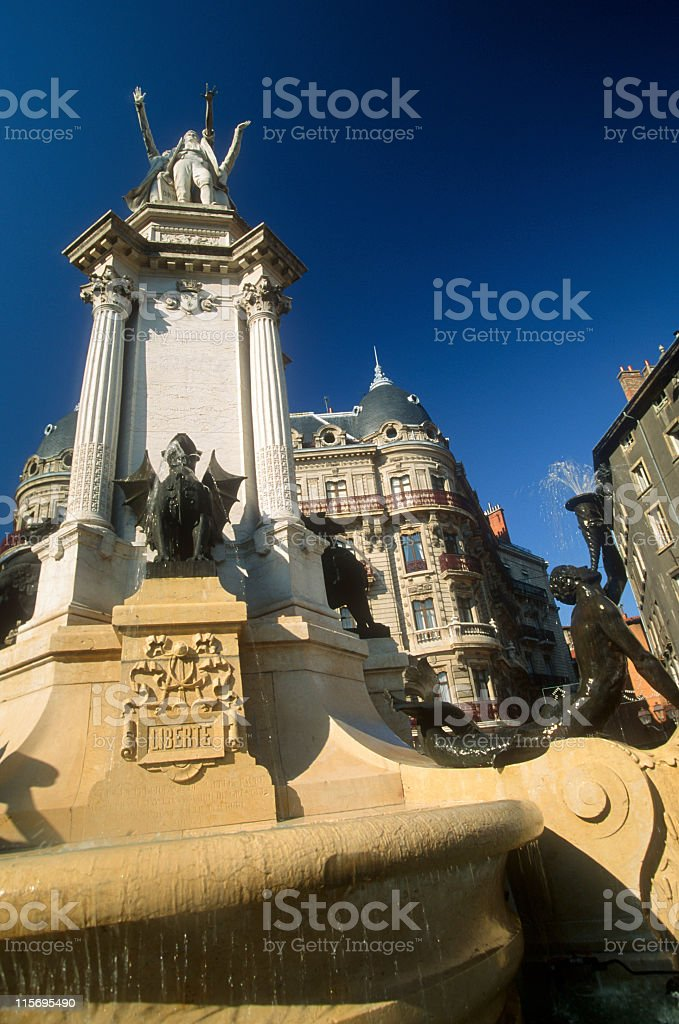 Grenoble - Notre Dame royalty-free stock photo