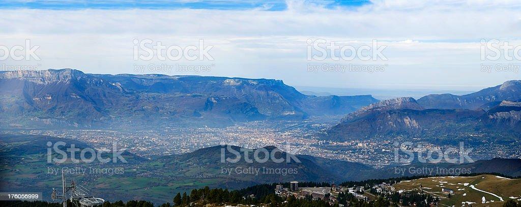 Grenoble (XXL) royalty-free stock photo