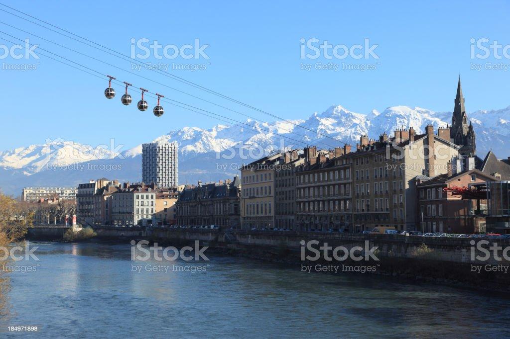 Grenoble stock photo