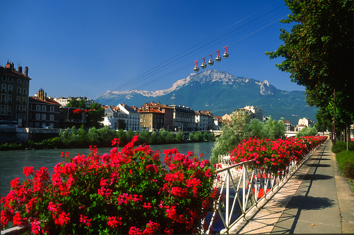 Grenoble Stock Photo - Download Image Now