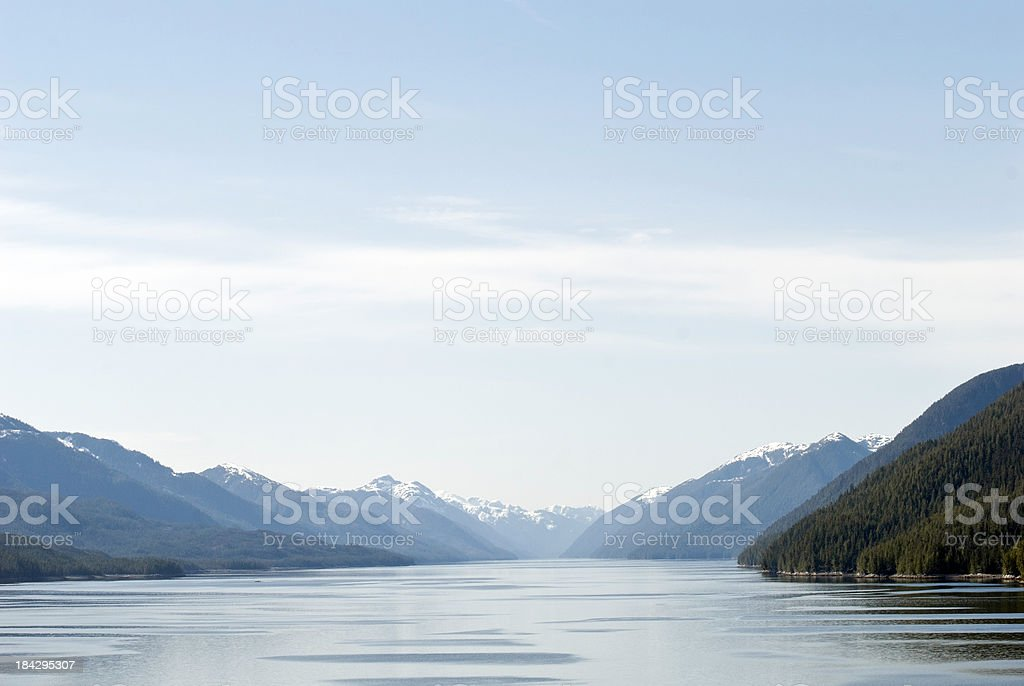 Grenville Channel stock photo