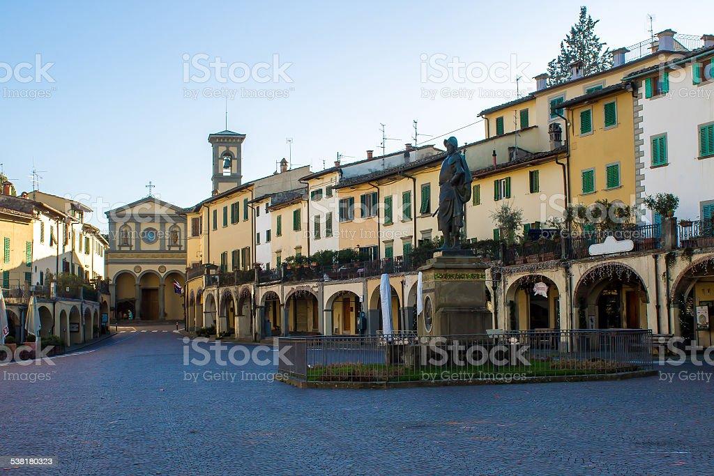 Greve in Chianti, Italy stock photo