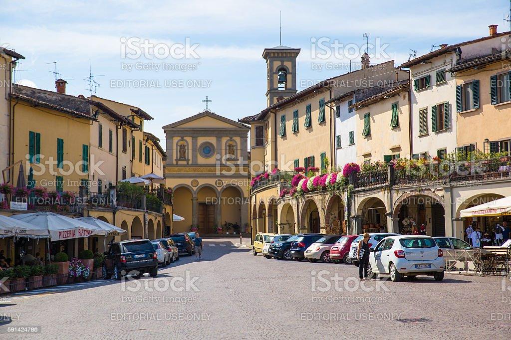 Greve in Chianti stock photo