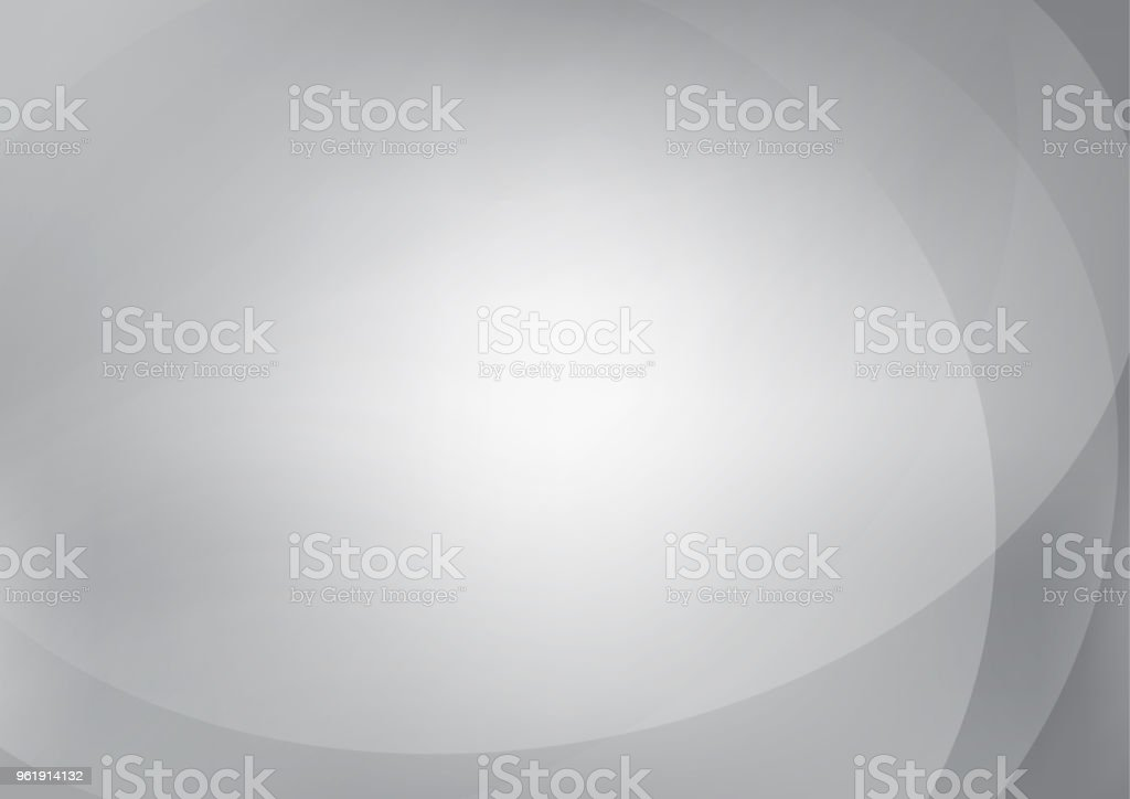 Grey Abstract background with smooth lines. stock photo